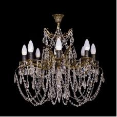 Люстра бронзовая Желудь (9 ламп)