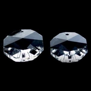 Хрустальная подвеска Октагон (оптикон) прозрачный