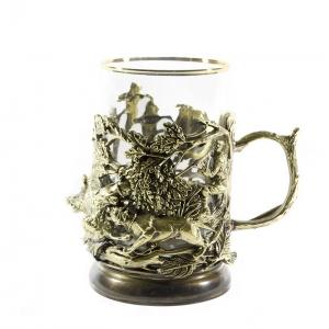Набор Чайный с подстаканником Охота