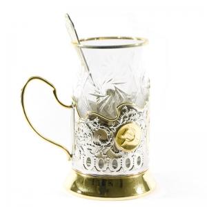 Набор Чайный с позолотой СССР