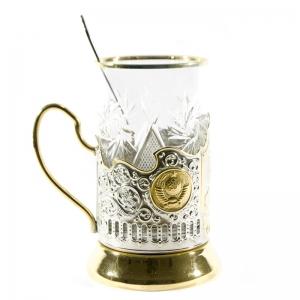 Набор Чайный с позолотой Сталин